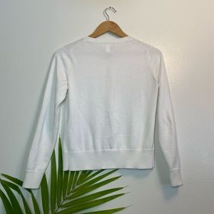 Banana Republic Sweaters - BANANA REPUBLIC White Cardigan